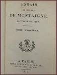 montaigne essays simplified